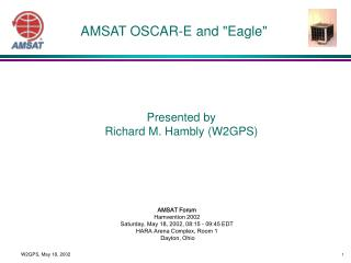 AMSAT OSCAR-E and