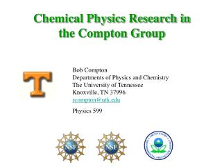 Chemical Physics Research in the Compton Group