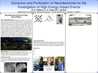 Nanodiamonds as Proof of High Impact Meteor