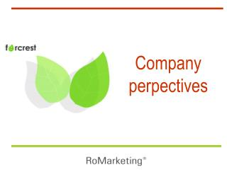 Company perpectives