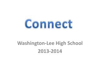 Washington-Lee High School 2013-2014