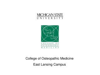 College of Osteopathic Medicine East Lansing Campus
