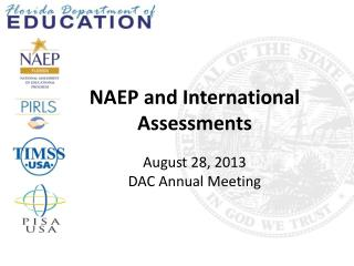 NAEP and International Assessments
