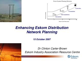 Enhancing Eskom Distribution Network Planning 15 October 2007
