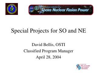 Special Projects for SO and NE