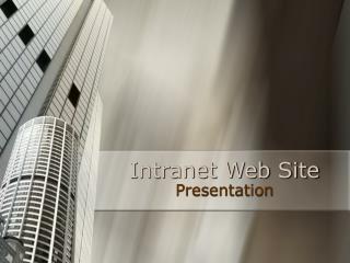 Intranet Web Site
