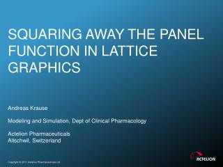 Squaring Away the panel function in lattice graphics