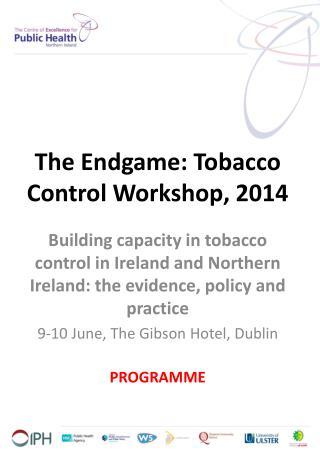 The Endgame: Tobacco Control Workshop, 2014