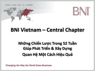 BNI Vietnam � Central Chapter
