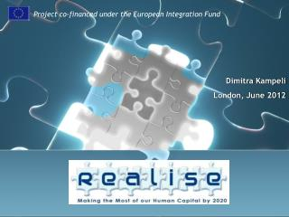 Project co-financed under the European Integration Fund