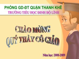PHÒNG GD-ĐT QUẬN THANH KHÊ