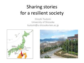 Sharing  s tories  for a resilient society