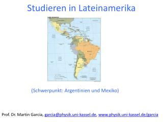 Studieren in Lateinamerika
