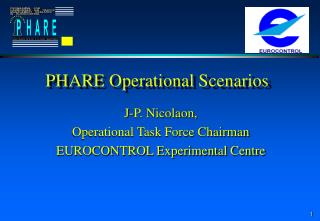 PHARE Operational Scenarios