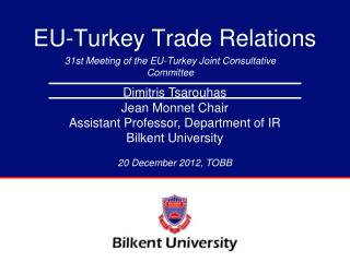 EU-Turkey Trade Relations