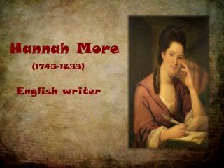 Hannah More
