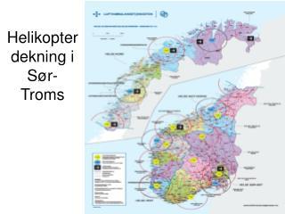 Helikopterdekning i Sør-Troms