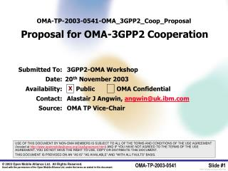 OMA-TP-2003-0541-OMA_3GPP2_Coop_Proposal  Proposal for OMA-3GPP2 Cooperation