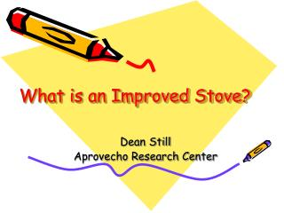 What is an Improved Stove?