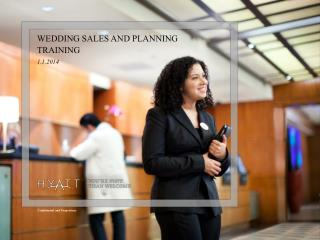 WEDDING SALES AND PLANNING TRAINING 1.1.2014