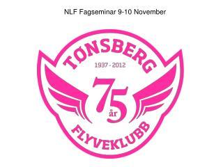 NLF Fagseminar 9-10 November