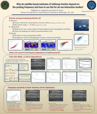 Why do satellite-based estimates of whitecap fraction depend on