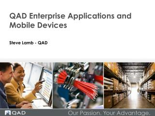 QAD Enterprise Applications and Mobile Devices