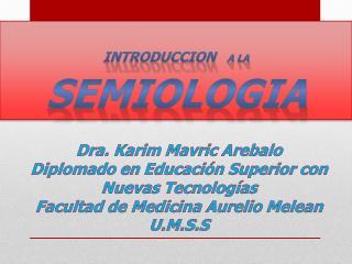 Dra. Karim  Mavric Arebalo Diplomado en Educación Superior con Nuevas Tecnologías