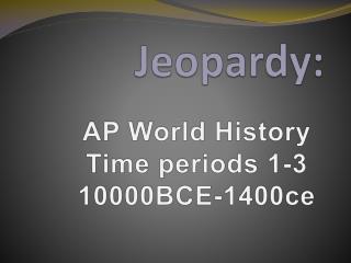 Jeopardy:
