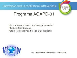 La gestión de recursos humanos en proyectos. Cultura Organizacional