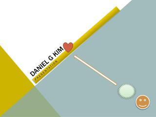 Daniel G Kim