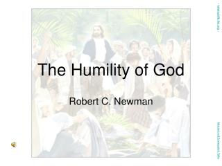 The Humility of God