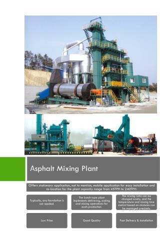 А sphalt Mixing Plant