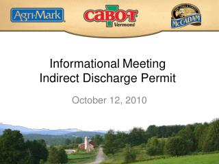 Informational Meeting Indirect Discharge Permit