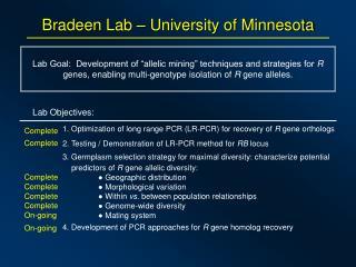 Bradeen Lab – University of Minnesota