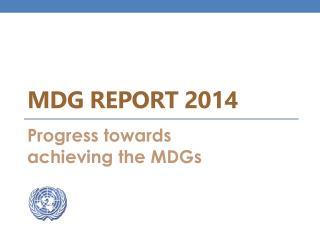 MDG  Report  2014