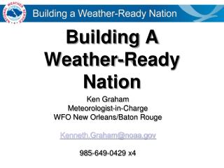 Building A  Weather-Ready Nation