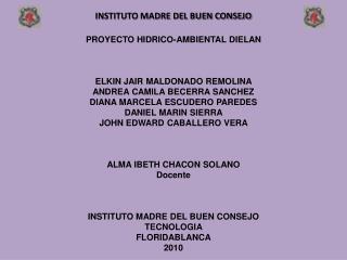 INSTITUTO MADRE DEL BUEN CONSEJO
