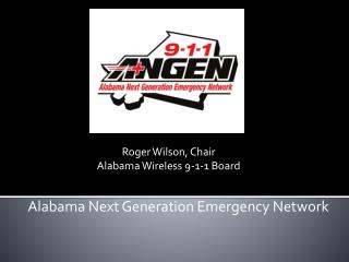 Alabama Next Generation Emergency Network