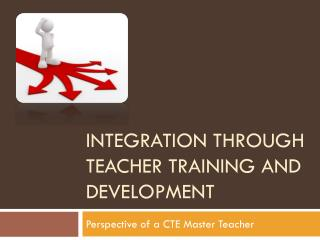 Integration through teacher training and development