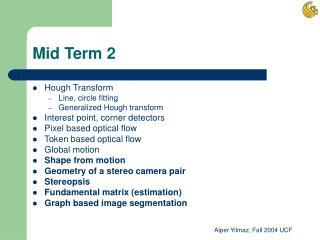 Mid Term 2