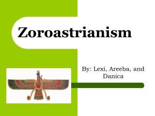 an introduction to the religion of zoroastrians The paperback of the zoroastrianism: an introduction by jenny rose at barnes & noble zoroastrianism is one of the world's great ancient religions.