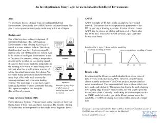 An Investigation into Fuzzy Logic for use in Inhabited Intelligent Environments