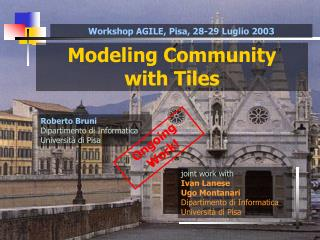 Modeling Community with Tiles