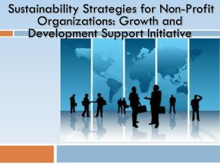 Sustainability Strategies for Non-Profit Organizations: Growth and Development Support Initiative