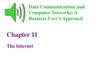 Chapter 11 The Internet