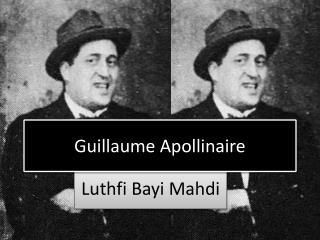 Luthfi Bayi Mahdi