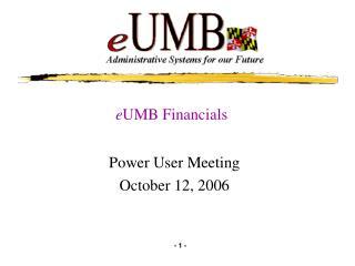 e UMB Financials