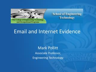 Email and Internet Evidence