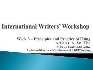 International Writers� Workshop